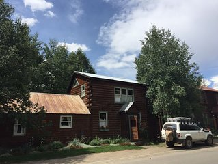 Historic Home in Heart of Crested Butte, the Perfect Location