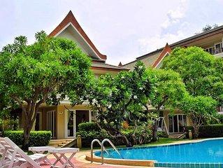 Thai Style Contemporary Oceanside Villa at Baan Talay Samran