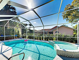 Exceptional Home w/ Beautiful Master Suite, Screened Pool & Spa