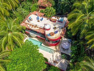 Beach Front Home with Pool and Sun Deck - Sleeps 8