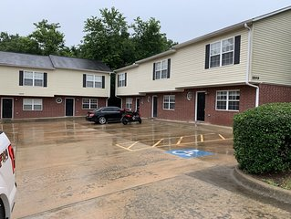 Walking distance to all U of A sporting activities. Two bedroom, 1and half bath.