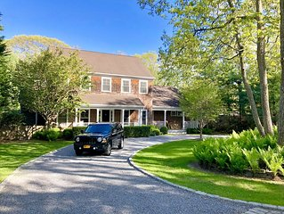 Designer home in East Hampton - Minutes to the Beach!