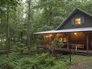 The Cabin at Little Moon Falls - Saluda, NC