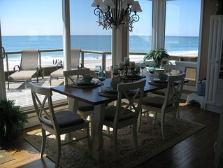 SPECTACULAR OCEANFRONT!  5 BEDROOMS.  MONDAY - SUNDAY FULL WEEK RENTALS ONLY.