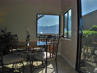 Desert Princess Condo with Mountain and Golf Course Views