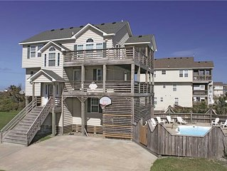 3 Little Birds Oceanside in Hatteras w/Pool,HotTub, RecRoom