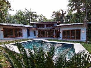 Stylish tropical villa with pool