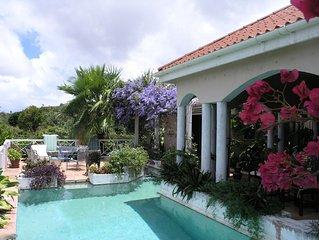 Unique Ocean View villa on 5 lush acres above 4 Seasons