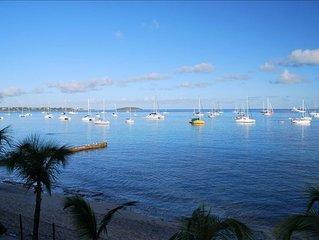 Oceanfront View Condo Marigot