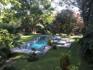 FUN, COMPLETE RELAXATION AMID EXQUISITE SURROUNDINGS . . . .