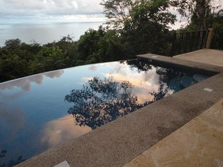 Private Infinity Pool with Spectacular Ocean and Jungle Views