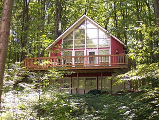 Newly renovated Harbor Springs Chalet - easy access to golf, skiing & beaches!