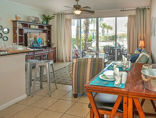 Gulf 103-Beach Side 1 BR + Bunk Condo--Closest to the Beach * DW