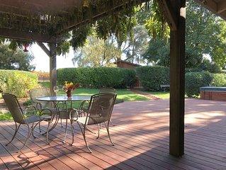 Artistic Vineyard View Home in Sebastopol, Sonoma County