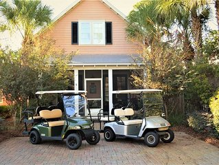 Beautiful 3bd/3.5ba home.  Free Activities! Tram, GOLF CART, Pet Friendly
