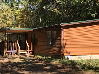 Cross Creek Cabin 1st Choice Cabin Rentals Hocking Hills near Logan and Athens