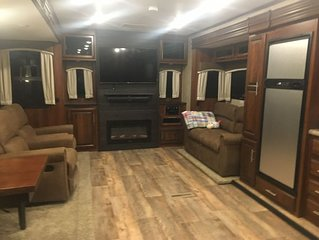 Take the family camping in this like new Jayco Travel Trailer