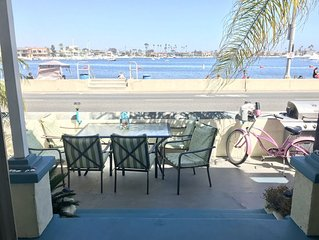 Waterfront 3 bdrm 2 bath in Belmont Shores, Long Beach w/parking Beach is open!