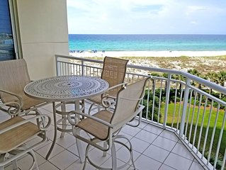 Best Views on the Beach from this 3rd floor Belle Mer condo!