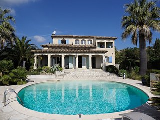Amazing Villa with Great Sea Views on Cote d`Azur!!! Short stroll to the Beach