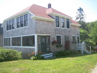Maine Oceanfront Cottage