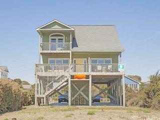 Southern Horizons: 4 BR / 3.5 BA home in Oak Island, Sleeps 9