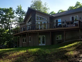 Luxury Waterfront Muskoka Cottage on Fox Lake in Huntsville