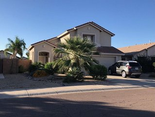 Sunny Arizona Vacation Rental with pool! 4 Bedroom, 3 Baths and Pool.