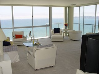Coronado Shores 2BR 2BA 14th Floor Corner On The Ocean, Minimum One Month Rental