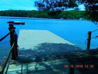 Vintage Lake Side Cottage