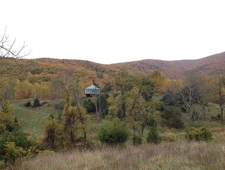 Luxury Yurt in Blue Ridge Mountains of Nelson County