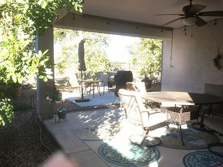 Golf course/ Shopping, biking, dining, equestrian and hiking.
