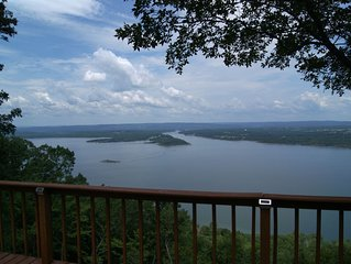 Overlooks Greer's Ferry Lake, 40,500 acres of clean, river-fed, deep water.