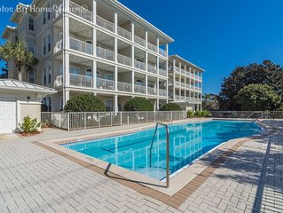 Villas at Seagrove 'Sunshine Sabbatical' 3BR Condo Sleeps 6 Heated Pool