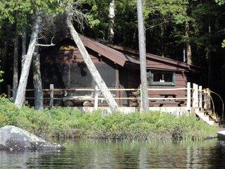 Adirondack Cabin in Saranac Lake - quiet, peaceful, timeless