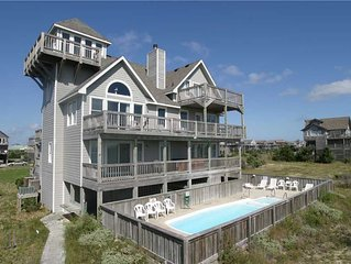 OCEANFRONT; gorgeous views w/Pool&HotTub, PoolTable