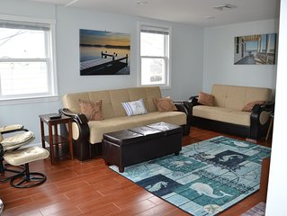 Spacious 2 Bedroom/1 bath beach house getaway. Steps from beach, 2+ car parking