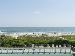 A Bit Closer To Heaven: 2 Bed/2 Bath Oceanfront Condo with Community Pool