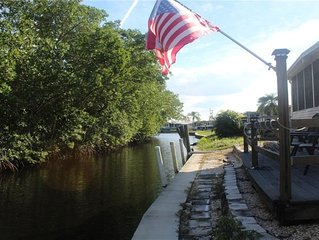 Sit On The Canal And Fish To Your Hearts Content ~  Lovely Home On The Canal