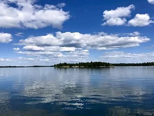 Entire Island ~ Paradise In Lake Of The Woods ~ Cabin, Canoe, And Great Fishing