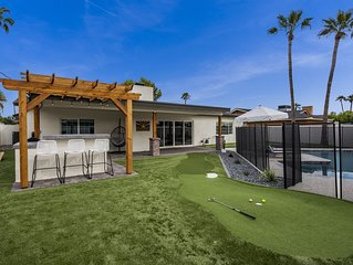Experience Luxe Desert Living in Scottsdale.  Stay at The Scottsdale House!