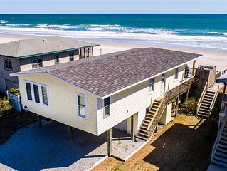 GOOD COMPANY: 3 BR / 2.5 BA oceanfront in Topsail Beach, Sleeps 6