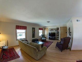 Sunny Wauwatosa Duplex. Upper Level