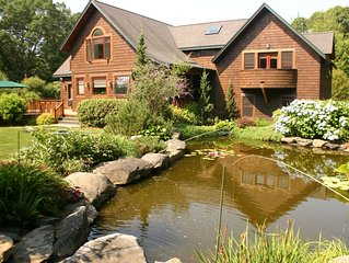 Kismet Secluded Shingle Style Home with Pool, Koi Pond