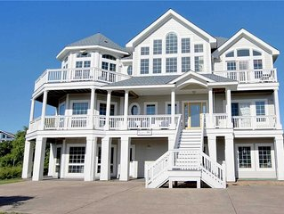 #434: Partial OCEANVIEW in Corolla w/HeatedPool & HotTub, Elev. & RecRm