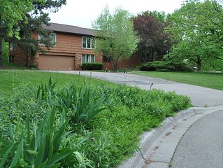 Secluded 5-acre, Minnetonka Family Retreat in West Metro Area