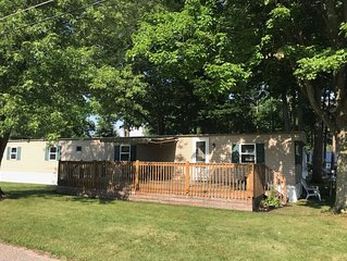 New on Market! Make many family memories on Coldwater Lake & in a comfy cottage!