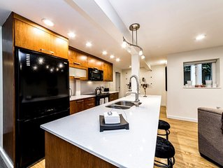 NEW LISTING!!! Clean and Beautiful 2-bedroom suite close to Grouse Mountain