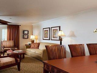 Gorgeous 2 bedroom lockoff villa at the Sheraton Vistana resort!