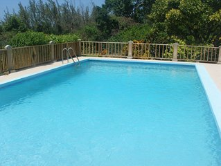 Beau Jardin is relaxing, private, secure with own pool